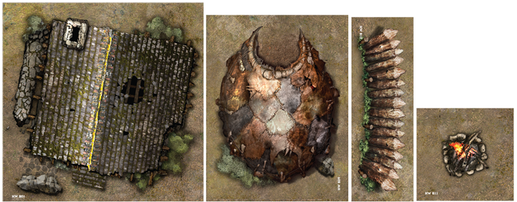 Iron Kingdoms Unleashed #4: Map Tiles and Tokens - RPGnet