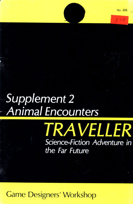 Image - Traveller Supplement 2: Animal Encounters