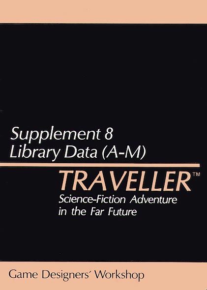 Image - Traveller Supplement 8: Library Data (A-M)