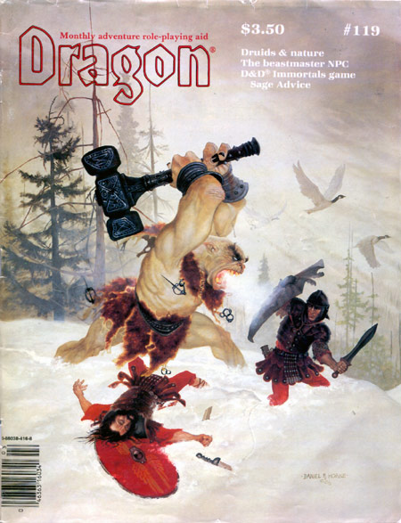 Dragon magazine: what is your all-time favorite cover