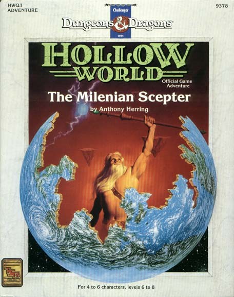 Cover of HWQ1 The Milenian Scepter